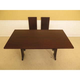1990s Mission Oak Arts & Crafts Stickley Dining Room Table Preview
