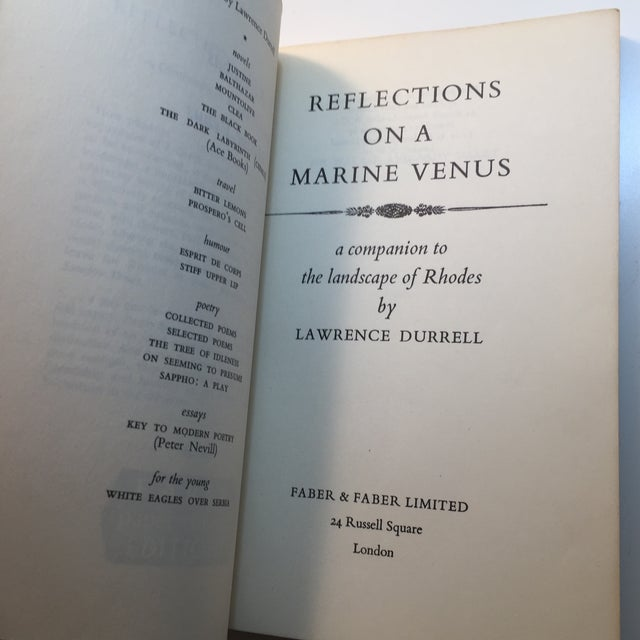 Lawrence Durrell Soft Cover Books - A Pair For Sale - Image 4 of 7