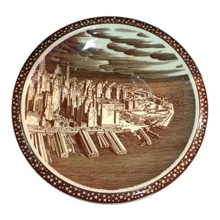 "1930s Rockwell Kent for Vernon Kilns ""Our America"" Plate For Sale"