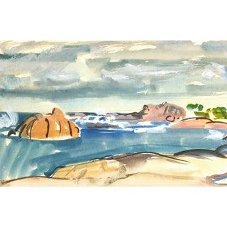 Madeleine Scali, Ocean Front Landscape For Sale