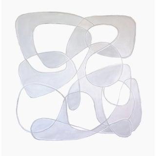 Isamu' Original Biomorphic Painting by Linnea Heide For Sale
