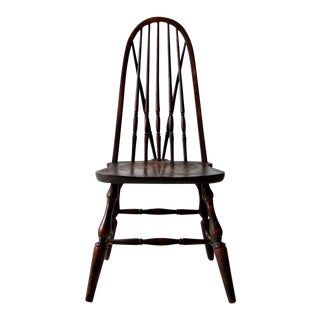 Antique Chittenden and Eastman Bow Back Windsor Chair For Sale
