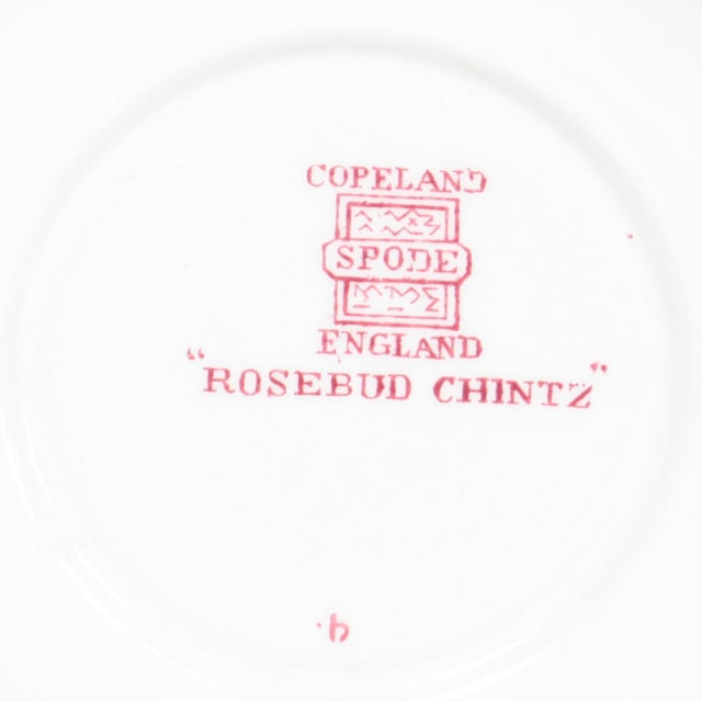 Late 20th Century Vintage Copeland Spode Rosebud Chintz China Dinnerware Set - 124 Piece Set For Sale - Image 5 of 13