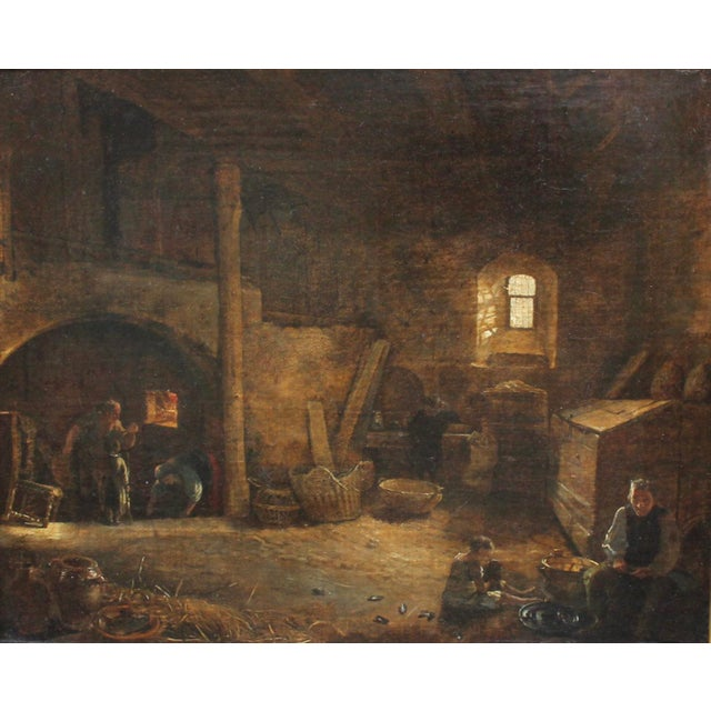 Bakery Interior Oil Painting - Image 3 of 7