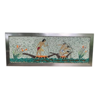 Mid Century Tile Wall Art For Sale