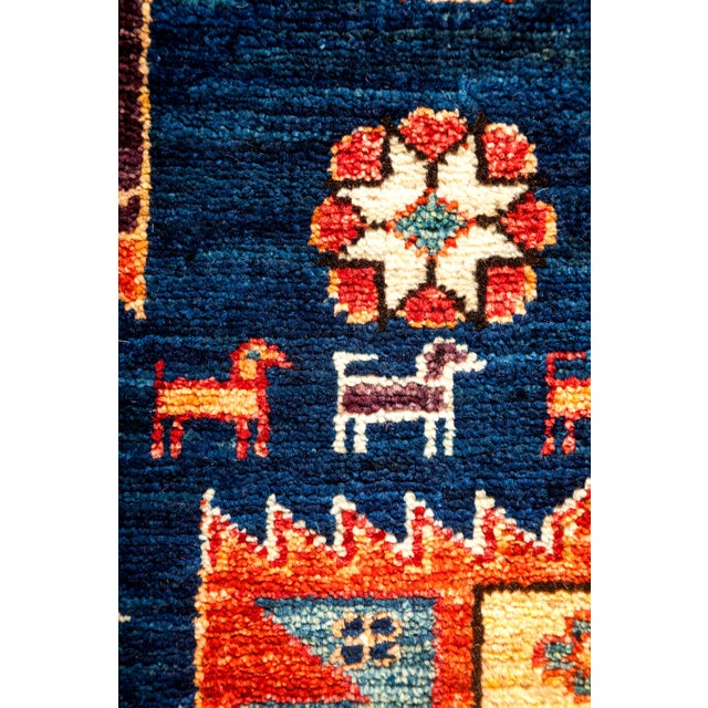 "Contemporary Traditional Hand-Knotted Rug - 6' X 8'7"" - Image 3 of 3"