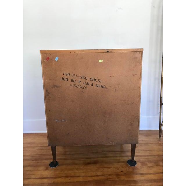 1960s 1960s Mid Century Modern Bassett 4 Drawer Dresser For Sale - Image 5 of 11