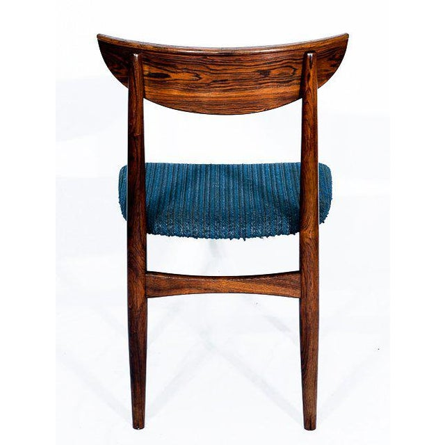 Set Of 4 Rosewood Dining Chairs For Sale In Los Angeles - Image 6 of 9
