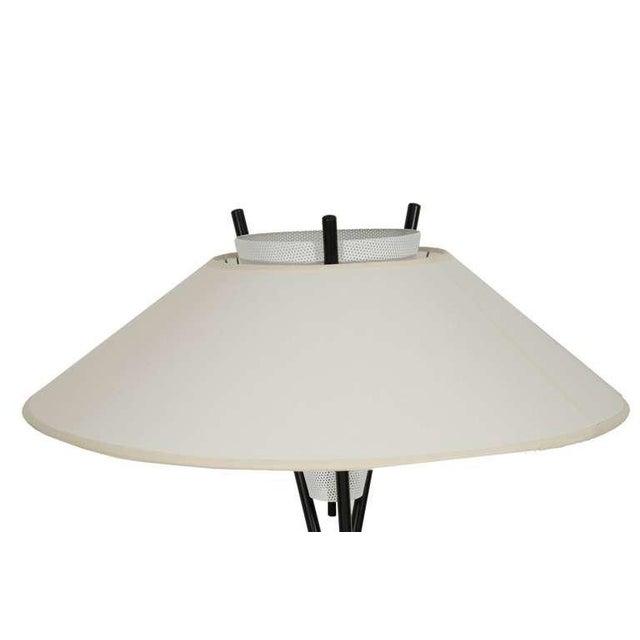 Lightolier Gerald Thurston for Lightolier Tripod Table Lamps For Sale - Image 4 of 5