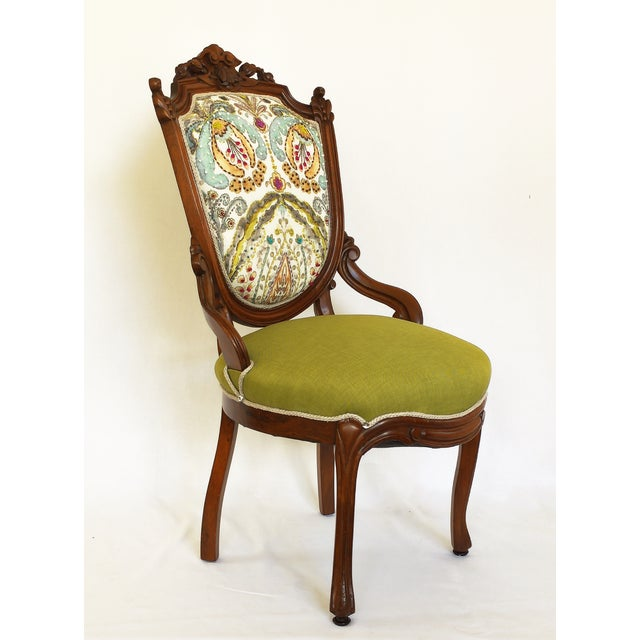 Victorian Parlor Side Chair - Image 2 of 6