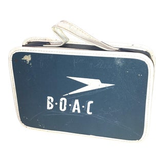 Vintage British Overseas Airways Corporation Box For Sale