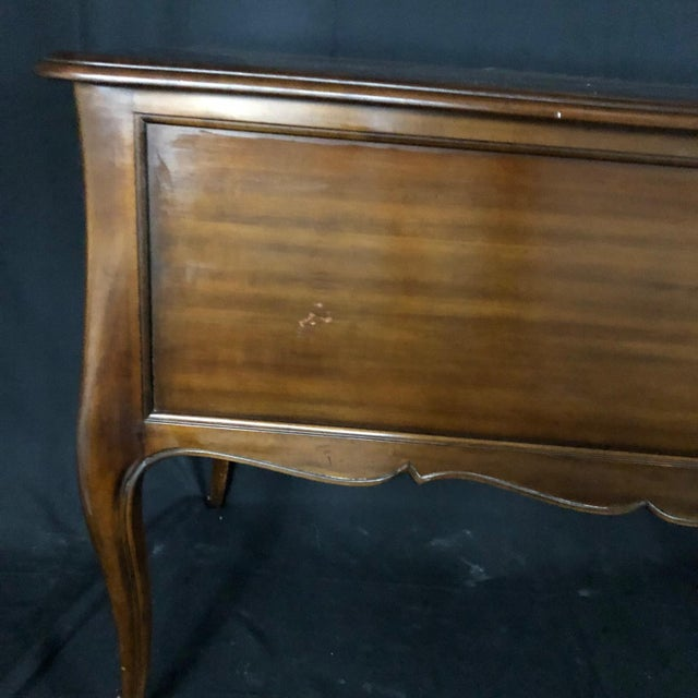 Kindel Louis XV Style Gilt Mounted Desk For Sale In Naples, FL - Image 6 of 13