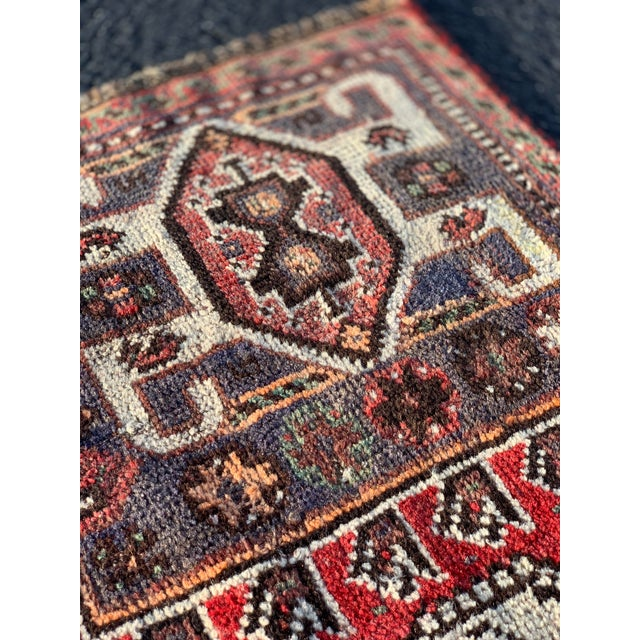 1940s Vintage Persian Qasghi Rug - 5′1″ × 7′10″ For Sale - Image 10 of 13