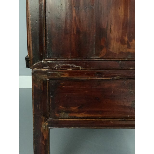 Antique Asian Wedding Cabinet For Sale - Image 11 of 12