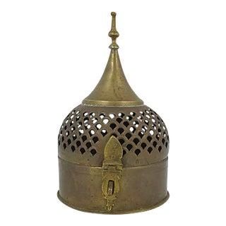 Moroccan Brass Cricket Box