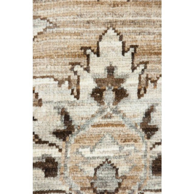 """Islamic Ziegler Hand Knotted Area Rug - 7'10"""" X 9'9"""" For Sale - Image 3 of 4"""