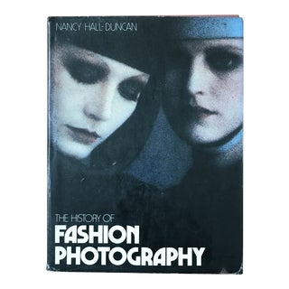 Vintage Book: The History of Fashion Photography For Sale