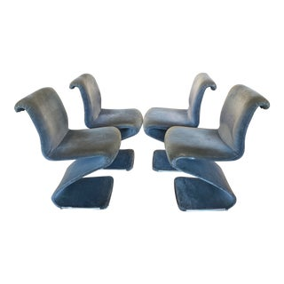 Linea Rima Z Chairs - Set of 4 For Sale