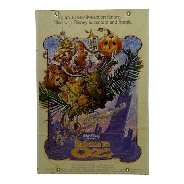 """Walt Disney's Return to Oz"" Mounted Original Movie Poster For Sale"