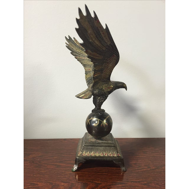 Traditional Brass Eagle For Sale - Image 3 of 8