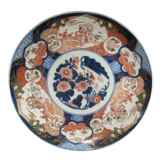 Early Meiji Era Imari Charger Plate
