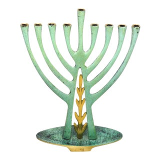 Pal-Bel Brass Menorah