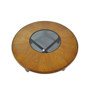 G-Plan Mid-Century Round Teak and Glass Coffee Table Preview