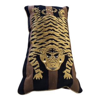 Tiger Pillow For Sale