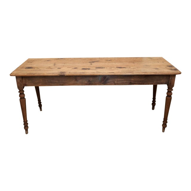 Vintage French Spindle Leg Table - Image 1 of 7