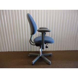 Modern Steelcase Criterion Blue Ergonomic Office Desk Chair Preview