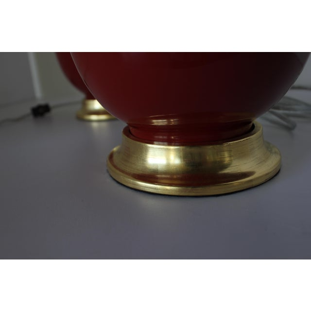Asian Christopher Spitzmiller Ming Lamps - a Pair For Sale - Image 3 of 5