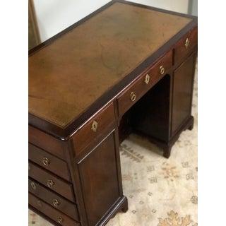 19th Century Regency Kneehole Desk of Mahogany Preview
