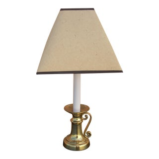 Colonial Brass Candlestick Table Lamp