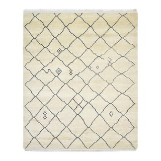 Joss, Hand-Knotted Area Rug - 8 X 10 For Sale