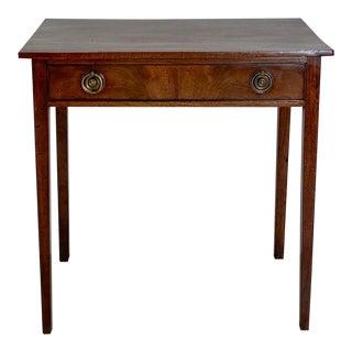 1800 English Mahogany Writing Table For Sale