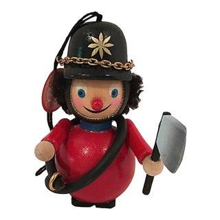German Fireman Ornament For Sale