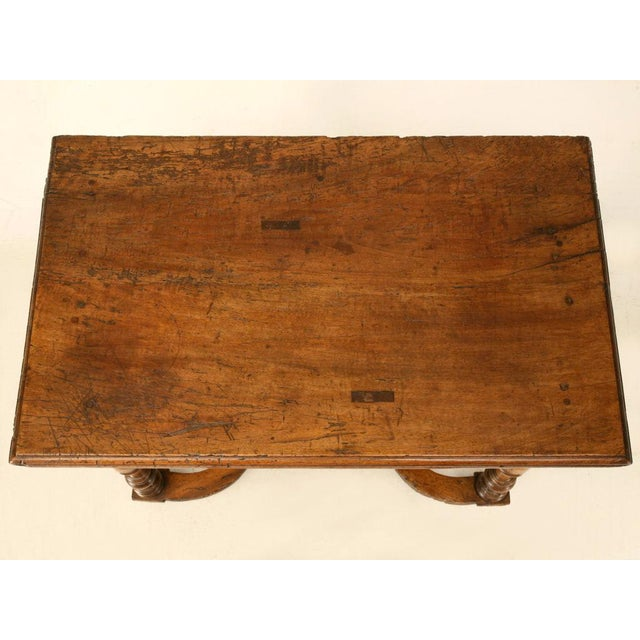 French 18th C. Antique French Fruitwood Writing Table For Sale - Image 3 of 11