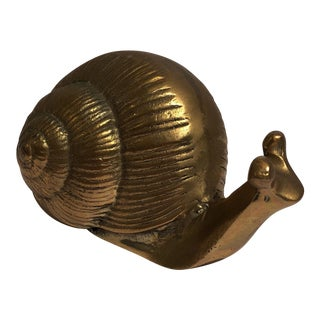 Brass Snail Paper Weight
