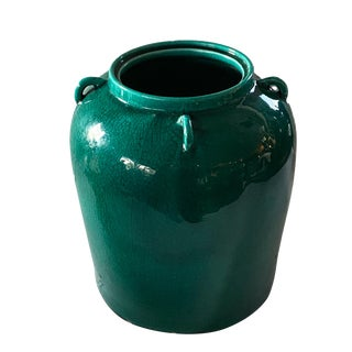 Yuan Porcelain Style Cabbage Jar For Sale