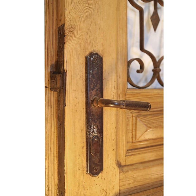 Antique French Pine Entry Door - Image 3 of 7