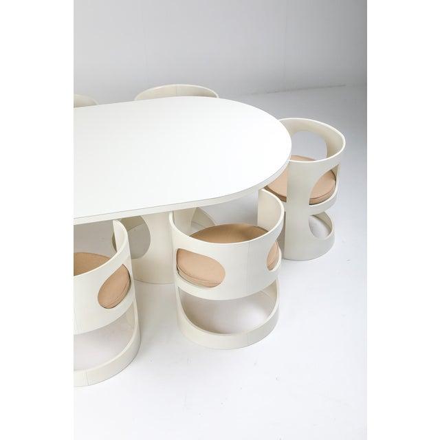Arne Jacobsen Arne Jacobsen Pre Pop Dining Set for Asko - 1969 For Sale - Image 4 of 12