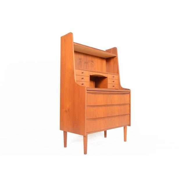 Danish Modern Secretary Bookcase - Image 2 of 10