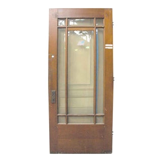Cypress Arts & Crafts Door