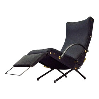 Iconic Mid-Century Design First Edition Osvaldo Borsani P40 Adjustable Lounge Chair for Tecno, 1955 For Sale