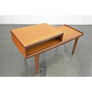Teak Telephone Bench by Younger #2 Preview