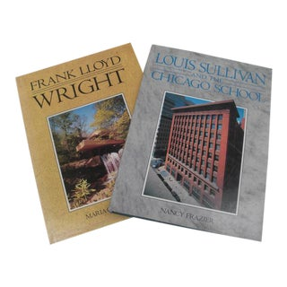 Vintage Architectural Coffee Table Books - A Pair