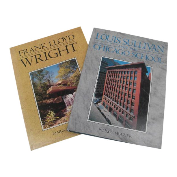 Vintage Architectural Coffee Table Books - A Pair - Image 1 of 7