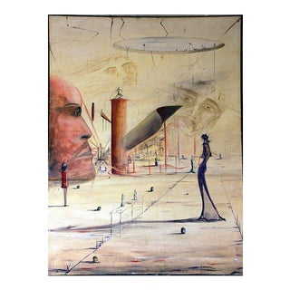 Surrealist Painting by Kenneth Stancin For Sale