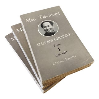 Chairman Mao Tse Tung Collectible - 3 Volume Set