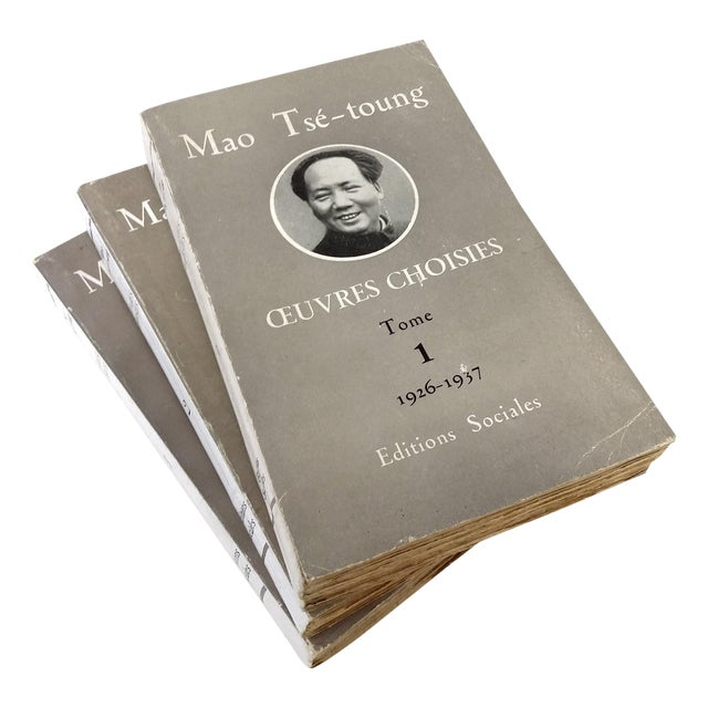 Chairman Mao Tse Tung Collectible - 3 Volume Set - Image 1 of 10